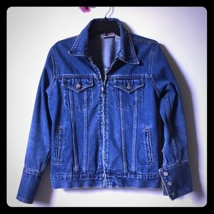 Vintage Bill Blass Jeans Denim Jacket Size Small